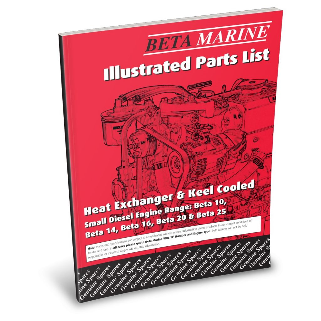 Beta 10 -  25 Mini series Illustrated Parts List